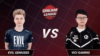 Vici Gaming vs Evil Geniuses - Game 1 - Lower Bracket Final - DreamLeague Season 13