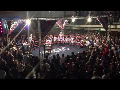 Zack Sabre Jr. vs Kurt Angle - INTROS - Revolution Pro Wrestling, York Hall, Bethnal Green, London