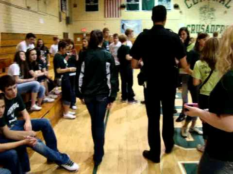 """Q92 """"Students 4 Sobriety 4"""" at Central Catholic High School - Sobriety Test"""