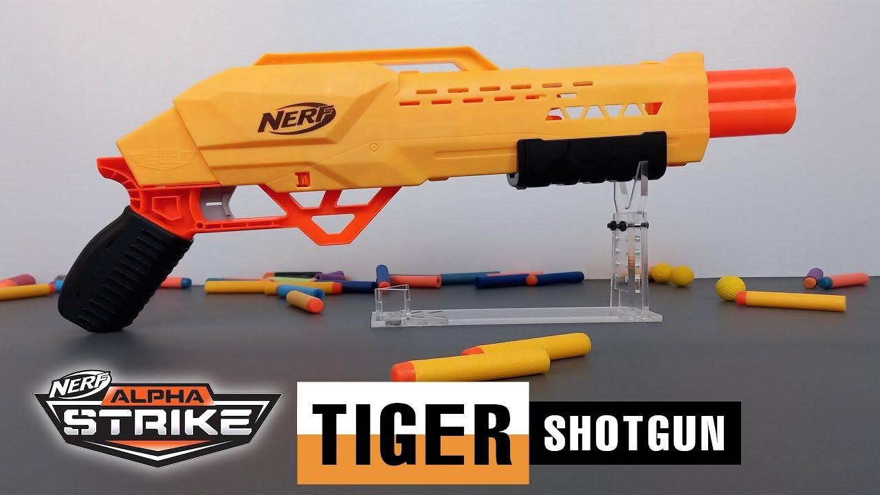 Review Súng Nerf Alpha Strike TIGER Súng Nerf Shotgun Giá Rẻ