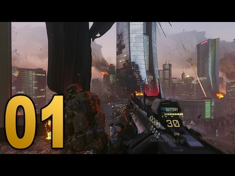 Advanced Warfare Walkthrough - Mission 1 - INDUCTION (Call of Duty Campaign Let's Play)