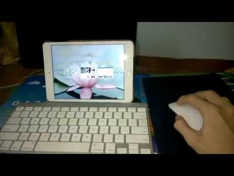 Ipad mini with mouse and keyboard