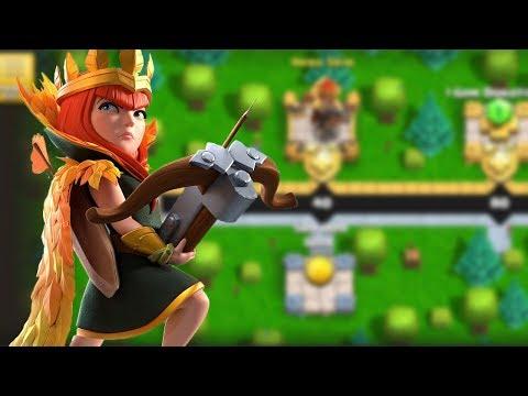 Let's Unlock New Archer Queen Skin | Clash Of Clans