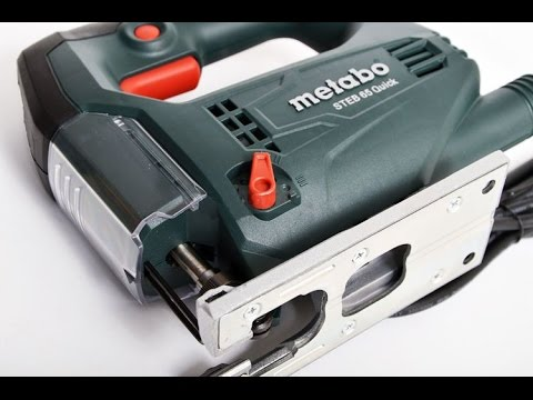 Обзор и тест лобзика Metabo STEB 65 Quick