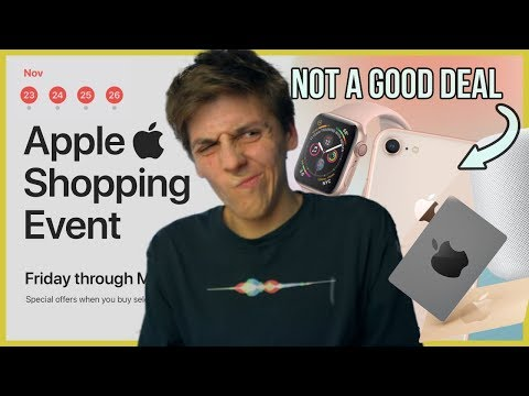Why Apple's Black Friday Event Kinda SUCKS