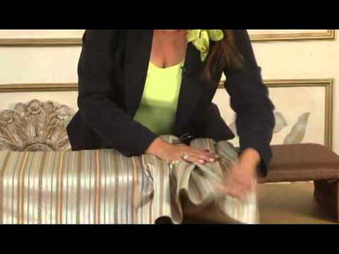 Capro cenefas decorativas youtube for Como hacer ganchos para cortinas de bano