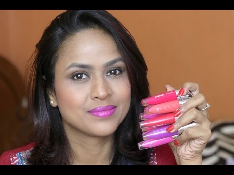 Oriflame The One Lip Sensation Vinyl Gel Swatches Review