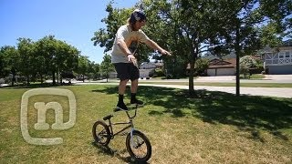 "How To Bar Ride A BMX With Ryan Nyquist & Mike ""Hucker""..."