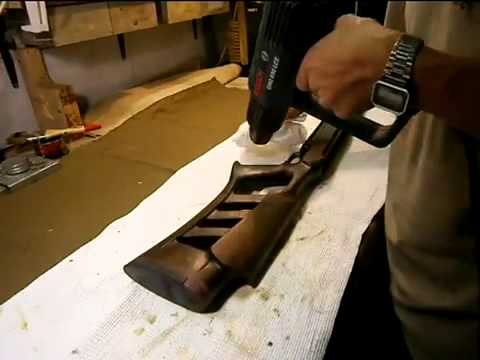 Чем покрыть деревянную ручку ножа.