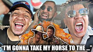 TIK TOK CARPOOL KARAOKE (Old Town Road REMIX + You Was At The Club) BEST MEME SONGS