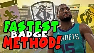 FASTEST WAY TO GET ALL BADGES IN ONE DAY! (NBA 2K19 SHOOTING GUARD & BADGES 2K19 GUIDE)
