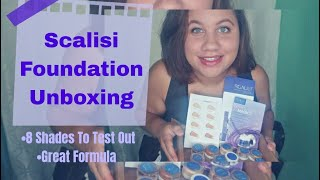 Scalisi Foundation Unboxing  only 8 shades