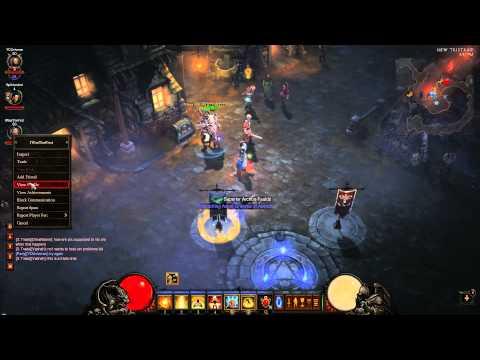 Diablo III Macro item swap trade scam