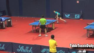 Amazing Rally  Ma Long vs Hao Shuai (China Training For WTTC 2013)