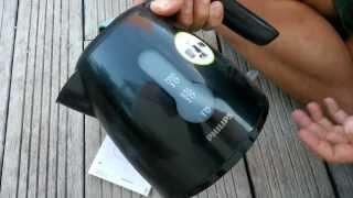 Philips hd460870 mini electric kettle tea maker