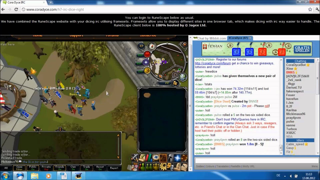 Dice gambling runescape is internet gambling legal in singapore