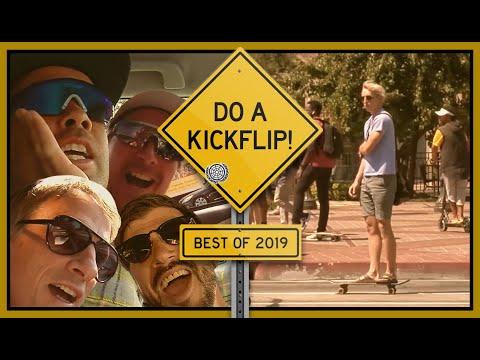 Best Of DO A KICKFLIP! 2019