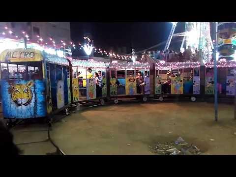 Toy train in dashera mela delhi