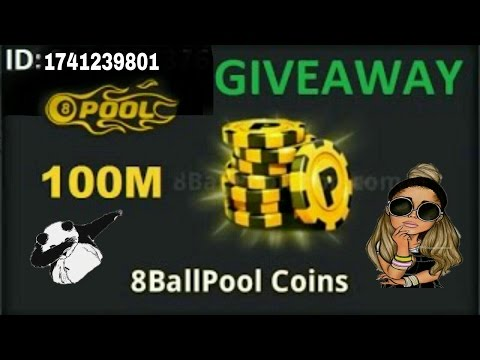 "*8 Ball Pool COINS GIVEAWAY MY ROAD TO [1K SUBSCRIBERS] ""SHOW ALL YOUR SUPPORT ""ID: 1741239801✌✌#7"