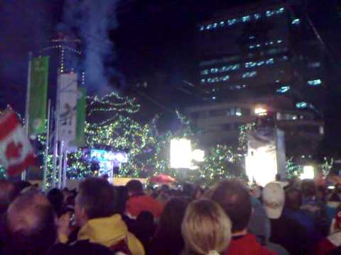 Ignite your dream - Robson Square Pyrotechnic show!