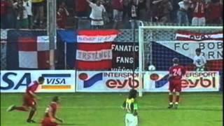 1997 August 12 Rapid Vienna Austria 6 Boby Brno Czech Republic 1 UEFA Cup
