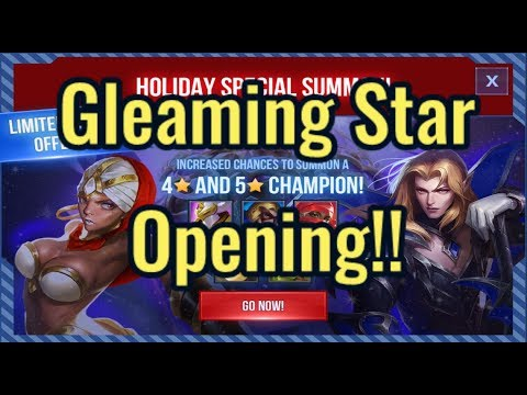 Gleaming Star Opening!! Holiday Event Summons! | Dungeon Hunter Champions