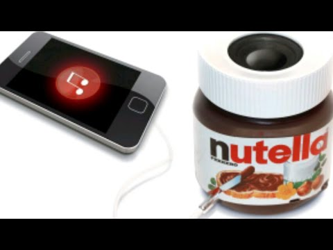Lautsprecher Nutella