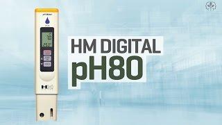 Hydroponics pH meter review: HM Digital pH80