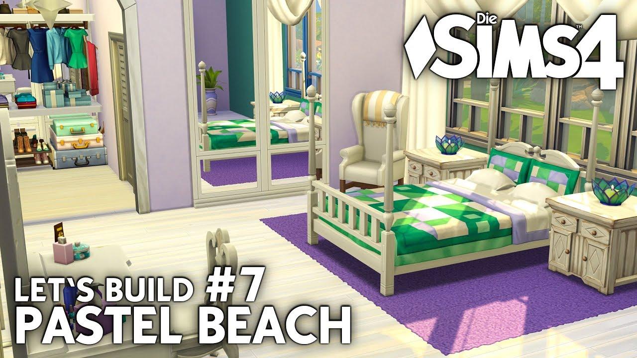 Die Sims 4 Haus bauen | Pastel Beach #7: Strandhaus Schlafzimmer ...