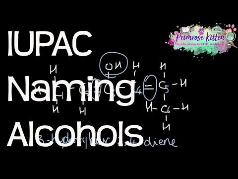 Naming Alcohols Using IUPAC Systematic Nomenclature  Organic Chemistry #3