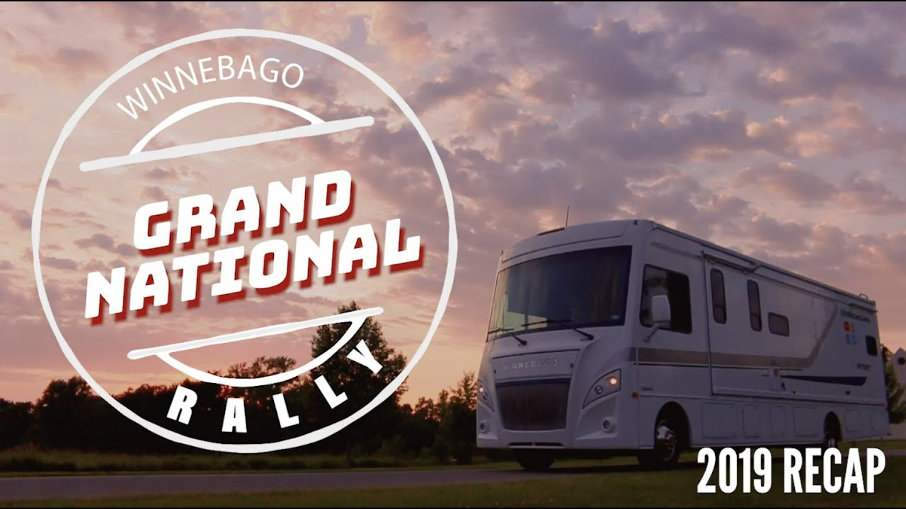 Family's First Winnebago Grand National Rally