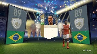 Fifa 18 first ever icon in a pack!!! (fifa 18 ultimate team pack opening)