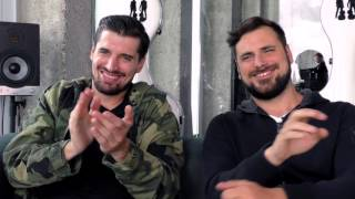 2Cellos interview - Luka & Stjepan (part 1)
