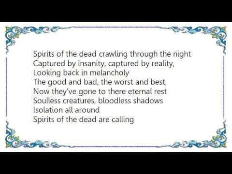 Grave Digger - Spirits of the Dead Lyrics