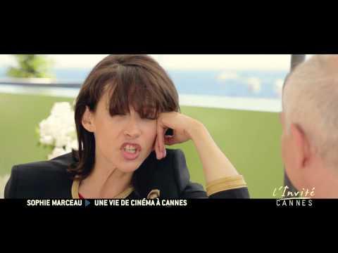 """Sophie Marceau se confie à Cannes """"Ma vie c'est du cinéma"""" (TV5MONDE)"""