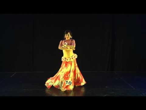 Jasirah - 1st prize winner Etna BellyDance Festival 2014