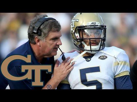 Georgia Tech's Justin Thomas: The Ideal Option Quarterback