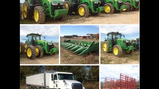 Huge Farm Machinery Auction in McGehee, Arkansas 1/26/16