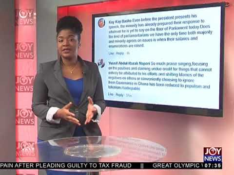SONA 2018 - AM Show on JoyNews (8-2-18)