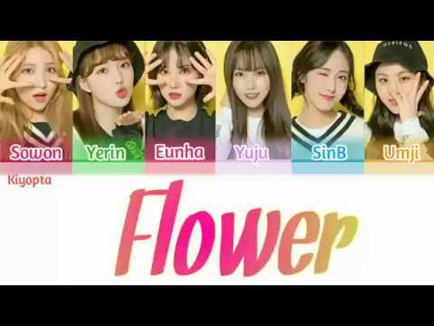 Gfriend (여자친구)- Flower Color Coded Lyrics [ Han/Rom/Eng ] [ Korea Ver ]