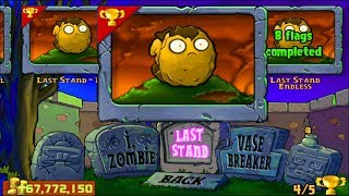 Plants vs Zombies | Puzzle Last Stand Roof vs All Zombie