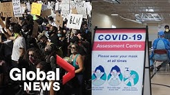 Coronavirus outbreak: Experts answer your COVID-19 questions about protests, face masks