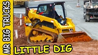 COMPACT CAT TRACK LOADER WORKING FAST | MrBigTrucks101