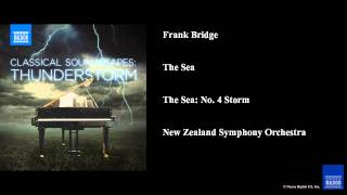 Frank Bridge, The Sea, The Sea: No. 4 Storm
