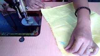 हुक ओर हाई की पट्टी लगाने का आसान तरीका । How to stitch Hook and eye patti