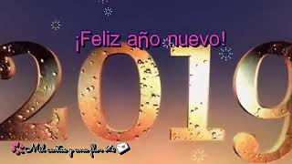 Les deseamos un feliz año nuevo 2019  queremos mucho suscriptores más 1000000000559044940494