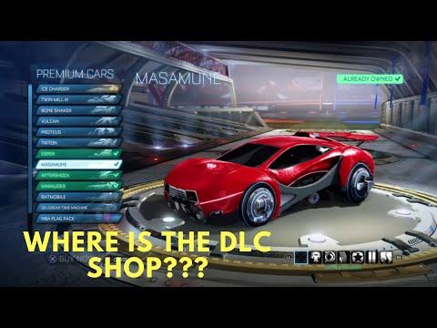 Rocket League | Where Are The DLC Cars & DLC Shop