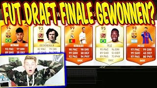 FIFA 17 - KRANKES FUT DRAFT FINALE GEWONNEN?? ⛔️😝 + WALKOUT in A PACK!! - ULTIMATE TEAM (DEUTSCH)