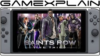 Saints Row The Third Announced for Nintendo Switch; Coming in 2019