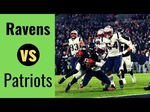 Baltimore Ravens vs Patriots Week 9 Highlights   NFL 03-11-2019